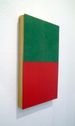 Untitled (Green/Red) 2014 by Katy Bowman